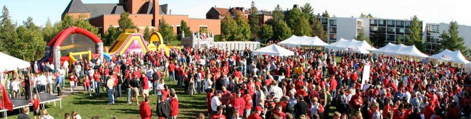 Celebration on the Tundra - SJU Homecoming