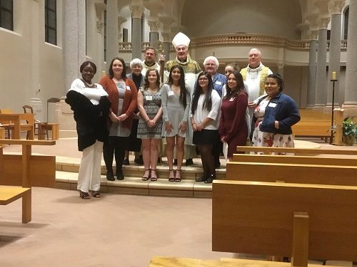 Group Photo of all who were confirmed with Bishop Kettler.