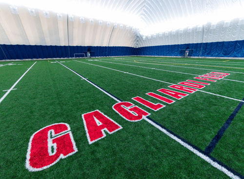 Gagliardi Field and seasonal dome open to CSB/SJU community for athletics, recreation ... and fun