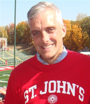 Denis McDonough '92 at Homecoming
